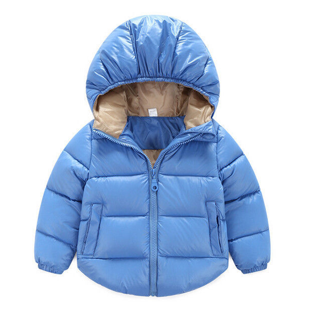 Girl Boys Girls Duck Down Coat Children's Winter Thick and Warm Jackets Children Casual Outerwear & Coats Hooded Snowsuit