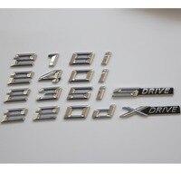 크롬 문자 단어 트렁크 엠 블 럼 배지 엠 블 럼 배지 BMW F22 F23 F87 218i 228i 220i 235i 230i 218d 225d 220d XDrive SDrive 엠블럼    -
