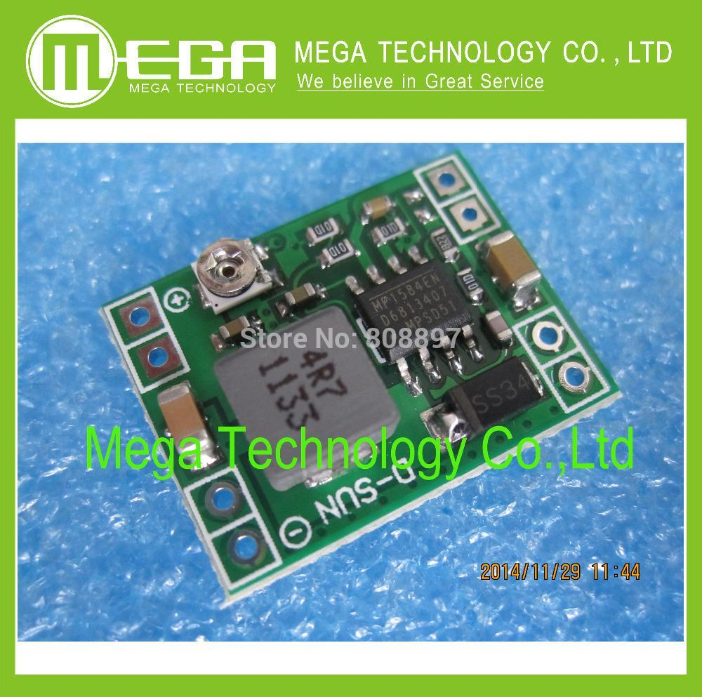 Free Shipping 5PCS GW1584 Ultra-small size DC-DC step-down power supply module 3