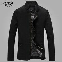 2017 neue Marke herren Jacken und Mäntel Fashion Slim Fit off white jacke männer stehen collor baumwolle frühling clothing männlichen mantel