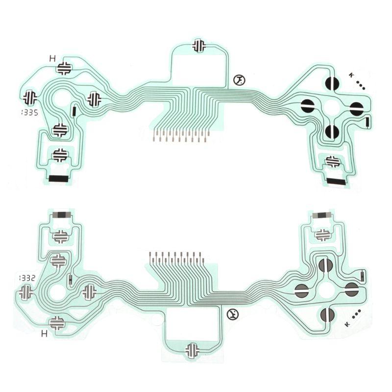 Abundante Conductor Película Controlador Cable Flex Del Teclado Pcb Jds-001 Jds-011 Slim Placa De Circuito Reemplazo Para Sony Playstation 4 Ps4 Exquisito Arte Tradicional Del Bordado