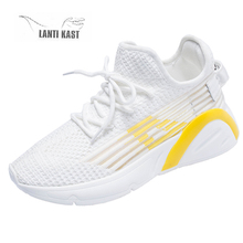 Women Casual Sport Shoes Female Sneakers Lace Up Breathable Running Shoes Footwears Flat Sports Shoes Basket кроссовки женские