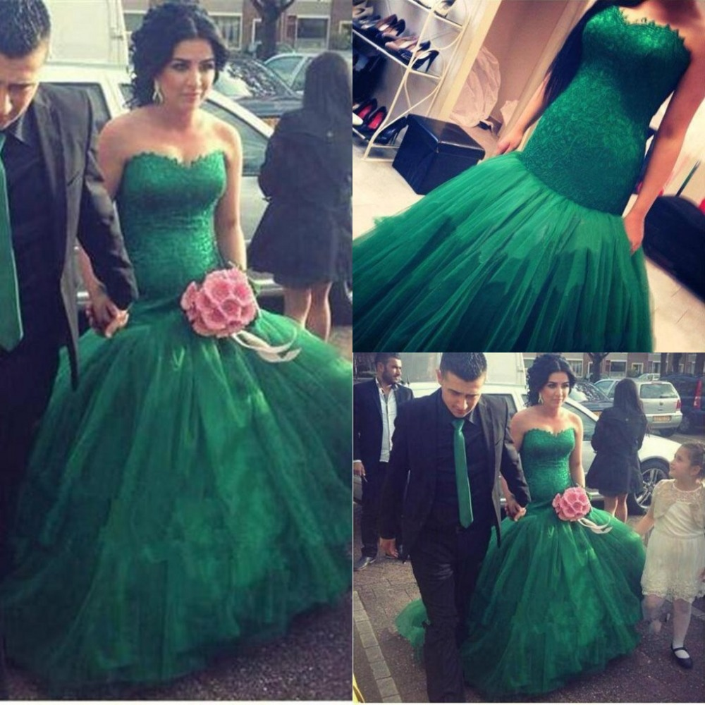 Vestido de novia verde – Vestidos de moda de esta temporada