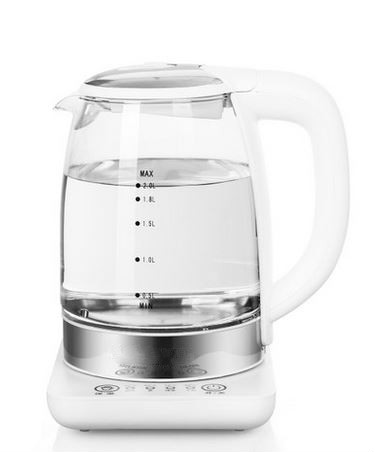 Electric kettle  thermo-glass electric kettle is used to heat and boil the tea potElectric kettle  thermo-glass electric kettle is used to heat and boil the tea pot