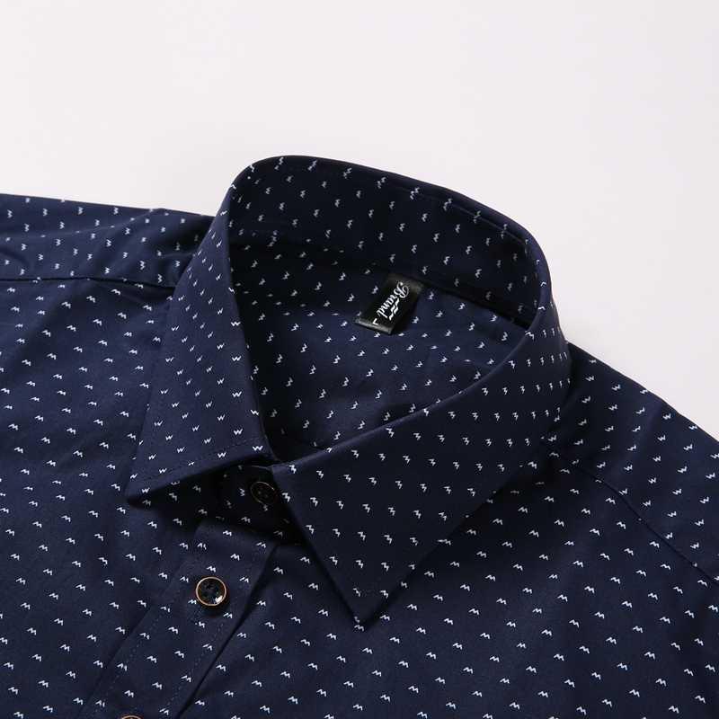 Sergio k Camisa 2020 Hemd Männer Polka Dot Casual Männer Shirt Marke Männer Kleidung Slim Fit Männer Lange Sleeve Social plus Größe Dudalina