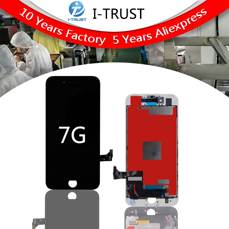 5PCS Grade A Tianma LCD For iPhone 7 7G LCD Replacement Touch Screen Digitizer Assembly