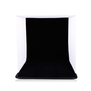 Image 4 - CY in stock 50cm Portable Mini Folding Studio Photography backdrop Foldable Softbox with 4 color Backgound Soft box and Lightbox