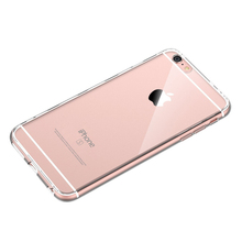New Cover Luxury Clear Silicone Case for IPhone X 8 Plus  6 Cases 5 5s 6 6s Plus for Iphone 7 Case Plus Soft Back Phone Cases стоимость