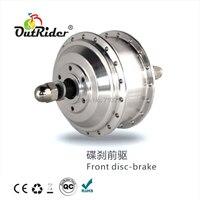 Hot koop! Outrider OR01D1 98mm 160-260 rpm 33 v/250 w V brake motor geen hall