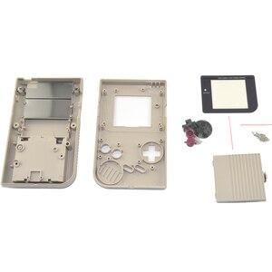 Image 4 - 11 الألوان المتاحة لعبة استبدال كيس من البلاستيك قذيفة غطاء لنينتندو GB ل Gameboy وحدة التحكم الكلاسيكية الإسكان