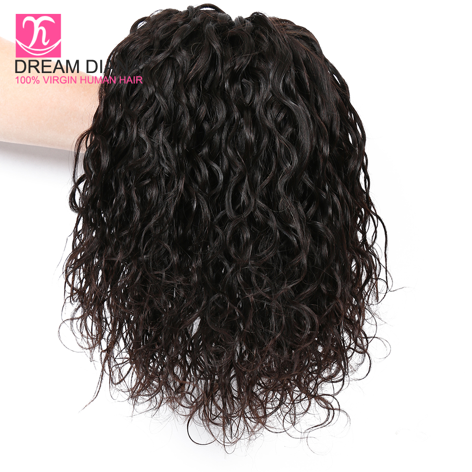 Human Hair Weaves Methodical Dreamdiana Brazilian Natural Weave Hair 4 Bundle Remy Wavy Hair Black 8-30 100% Human Hair Bresiliens Ocean Wave Long Hair