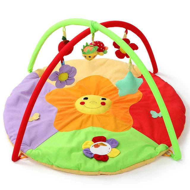 2017 Flor Quente 0-12 Meses Brinquedo Macio Do Bebê Esportes Dos Miúdos Do Bebê Pad Rastejando Tapetes de Jogo Portátil do Jogo Educativo Cobertor ginásio
