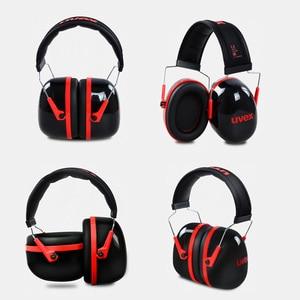 Image 4 - UVEX K3 Soundproof Earmuffs Noise Reduction Foam Earmuffs 33dB SNR 27dB NRR Adjustable Headband for Industrial Sleeping Travel