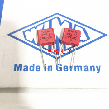 2019 hot sale 10pcs/20pcs Germany WIMA capacitor MKP10 400V 473 0.047UF 400V 47nf P: 10mm Audio capacitor free shipping 2019 hot sale 10pcs 20pcs germany wima mkp10 1000v 0 0033uf 3300pf 1000v 332 p 10mm audio capacitor free shipping