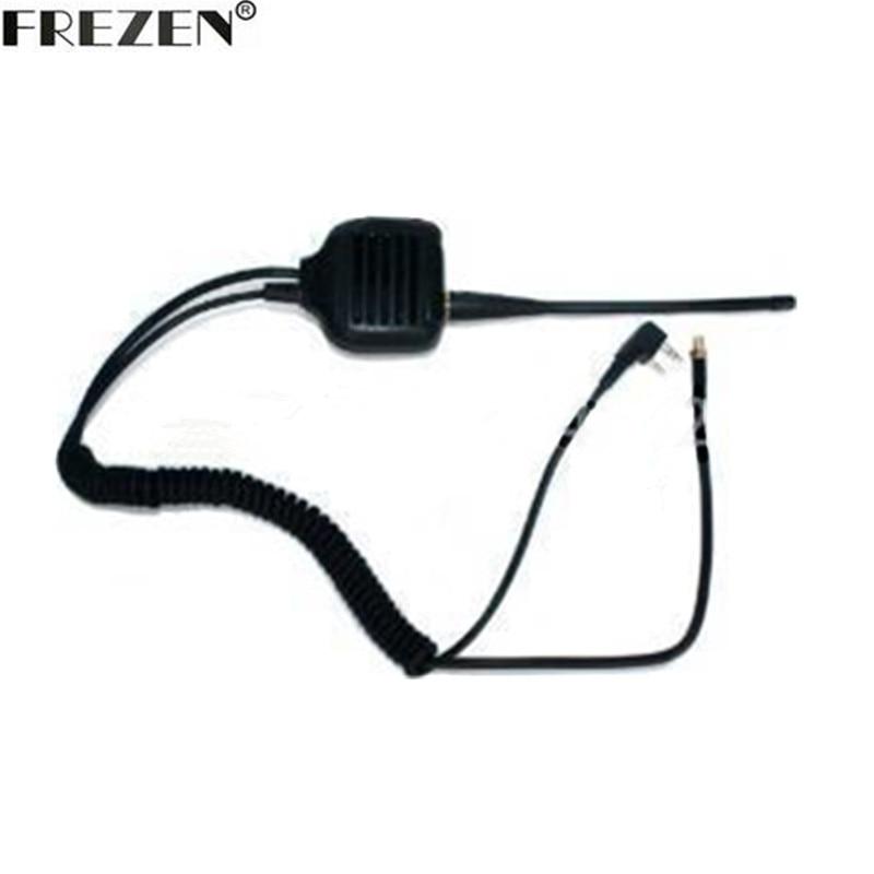 Microphone Handheld Speaker Mic Antenna SMA-F Adapter For Kenwood Baofeng Wouxun HYT PUXIING Walkie Talkie UV-5R BF888S Radios