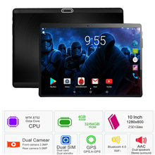 Gehärtetem 2.5D Glas 10 zoll Tablet PC Android 7.0 OS MTK8752 Octa Core 4 gb RAM 64 gb ROM 8 Kerne bluetooth WiFi Tablet PC 10 10,1(China)