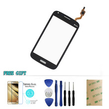 White/Black Color For Samsung Galaxy Core GT i8260 Duos i8262 8262 8260 Touch Screen Digitizer + Film +Sticker+Tools