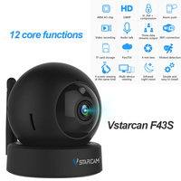 Vstarcam F43S 1080P HD Video Surveillance Camera CCTV IP Camera Wireless IR Cut Camera WIFI Indoor