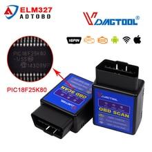 Vdiagtool ELM327 V1 5 WIFI or Bluetooth OBD2 Diagnostic Tool ELM 327 WIFI OBDII Protocol Scanner