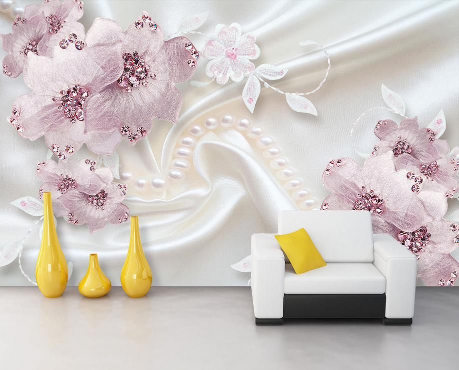 europea de lujo del papel pintado para paredes de decoracin del hogar foto wallpaper murales de