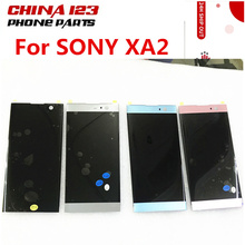 original For Sony Xperia XA2 LCD Display Touch Screen Digitizer Assembly Replacement H3113 H4133 H4131 H4132 For SONY XA2 LCD 4 6 white or black for sony xperia z3 mini compact d5803 d5833 lcd display touch digitizer screen assembly sticker