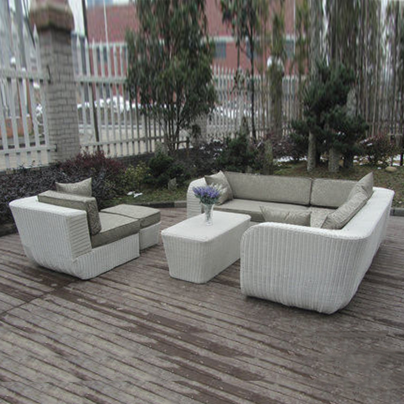 6-pcs PE rattan beach sofasPastoralism Home Indoor / Outdoor Rattan - Furniture