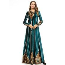 Winter Dress Women 2018 Casual Vintage Solid Long Sleeve Velvet Female Elegant Party Dresses Vestidos Plus Size 4XL  7323