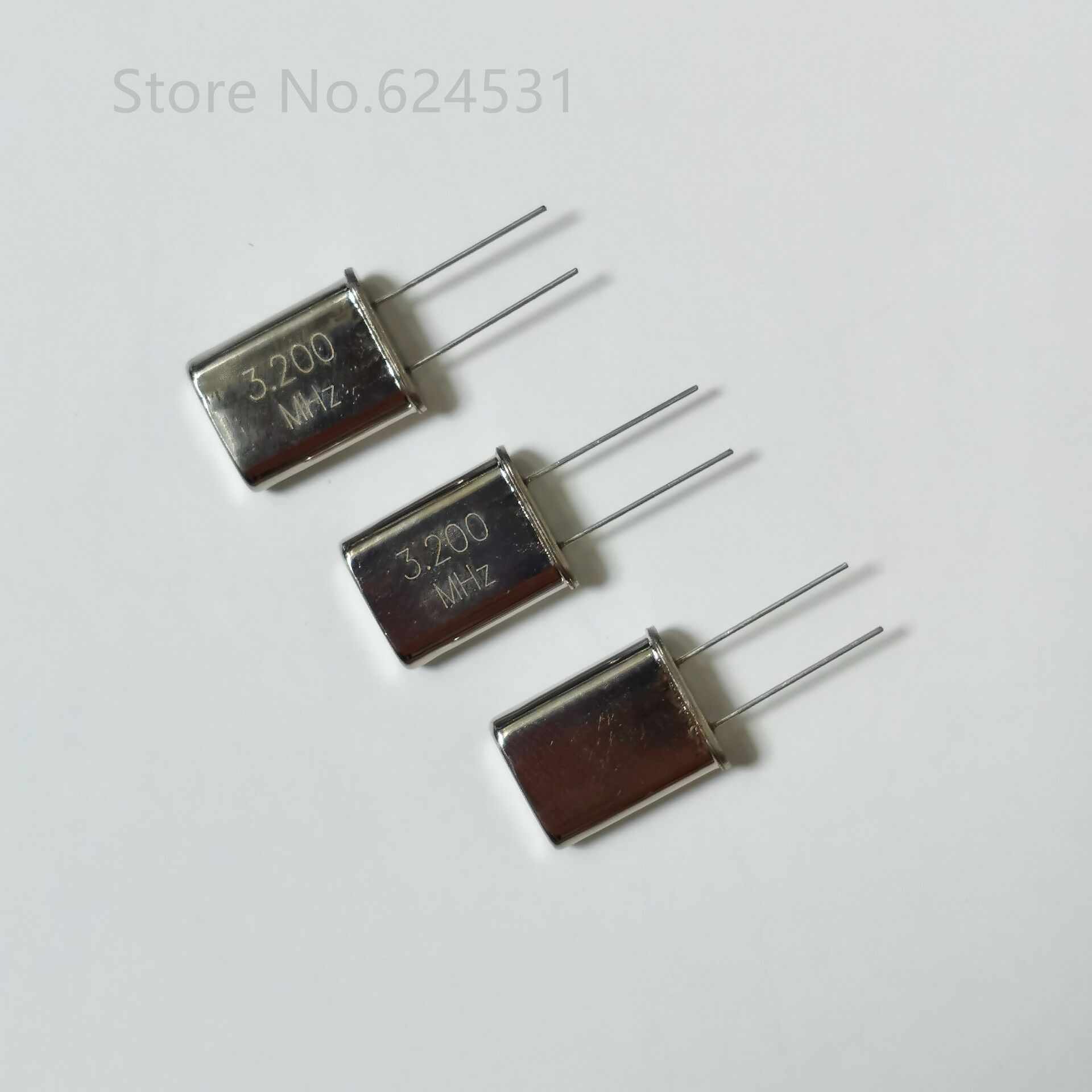 10pcs Quartz Crystal Resonator In-Line Passive Crystal Oscillator HC-49U 3.2MHZ 3.2M 3.200MHZ Resonator