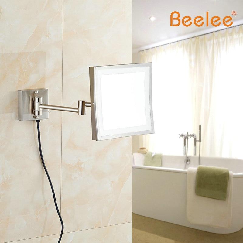 Beelee Wandmontage Professionele Make Spiegel Verlichting LED Iicht ...