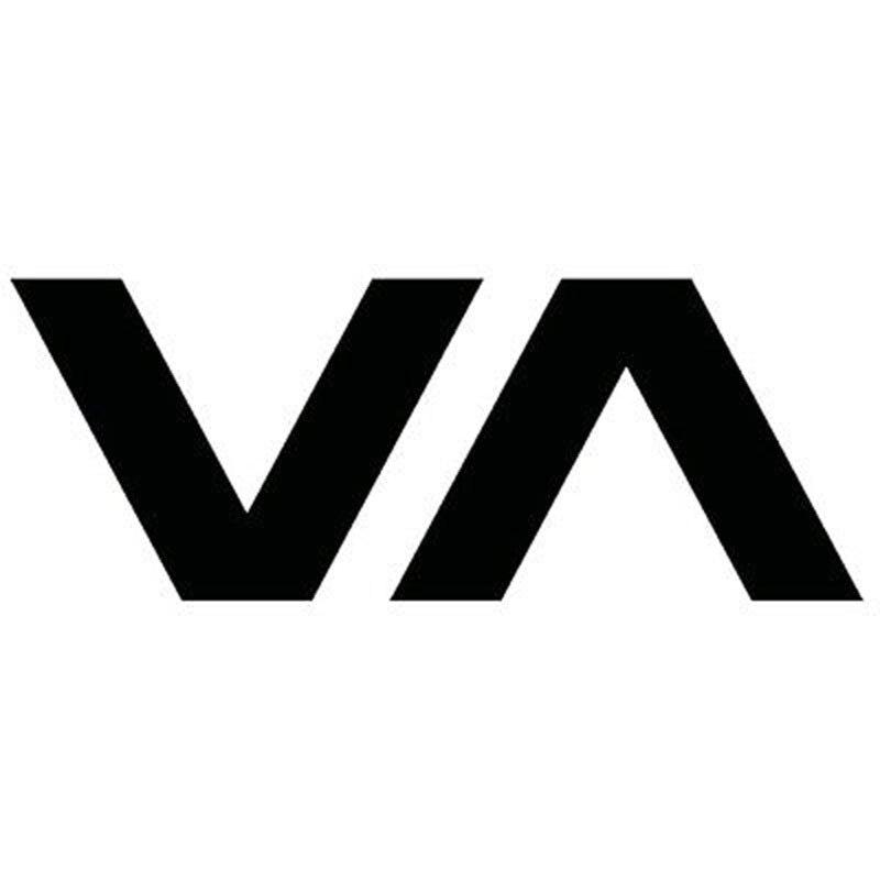 13.1X5CM VA CA Ruca Surf Skate Vinyl Decal Black/Silver Car Sticker S8-0310