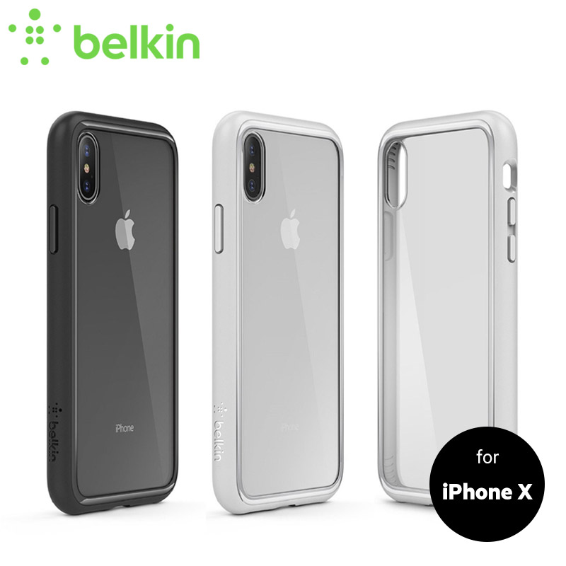 new product 15460 5fce5 US $34.99 |Belkin Original SheerForce Protective Case for iPhone X Drop  Protection with Retail Packaging F8W868bt-in Fitted Cases from Cellphones &  ...