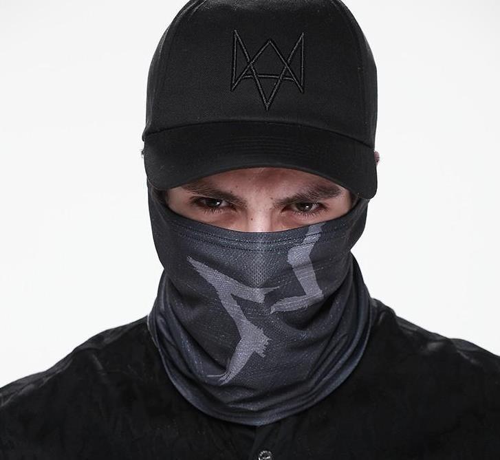 Watch Dogs Aiden Pearce Hat бейсболки Косплей костюмная палочка и маска для лица