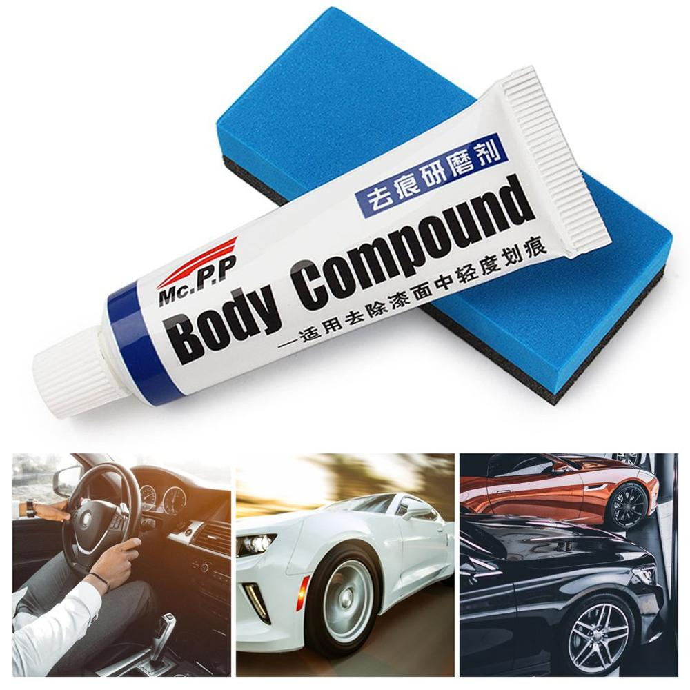 Car Scratch Repair Kit Auto Body Compound Polishing Grinding Paste Paint Care Set Auto Accessories Car Wax(China)