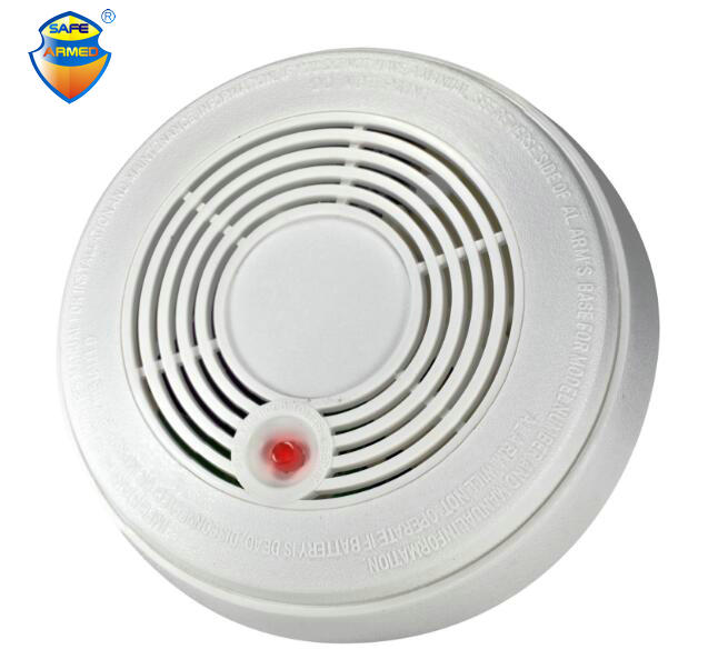 Security Battery Powered Combination Smoke Alarm CO Carbon Monoxide Poisoning Sensor Photoelectric CO & Smoke Detector battery powered photoelectric smoke alarm independent smoke detector single station type smoke detector