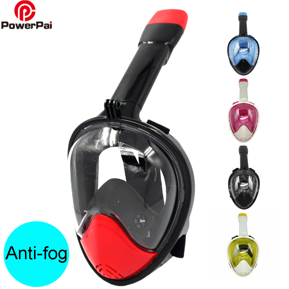 Underwater Breathing Snorkel Diving Mask Set Anti-fog Full Face Snorkeling Mask Scuba spearfishing Equipment Swimming Training