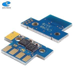 Image 3 - 1 set 8K NA version 70C1XK0 70C1XC0 70C1XM0 70C1XY0 toner chip for Lexmark CS510 CS510de CS510dte laser printer cartridge
