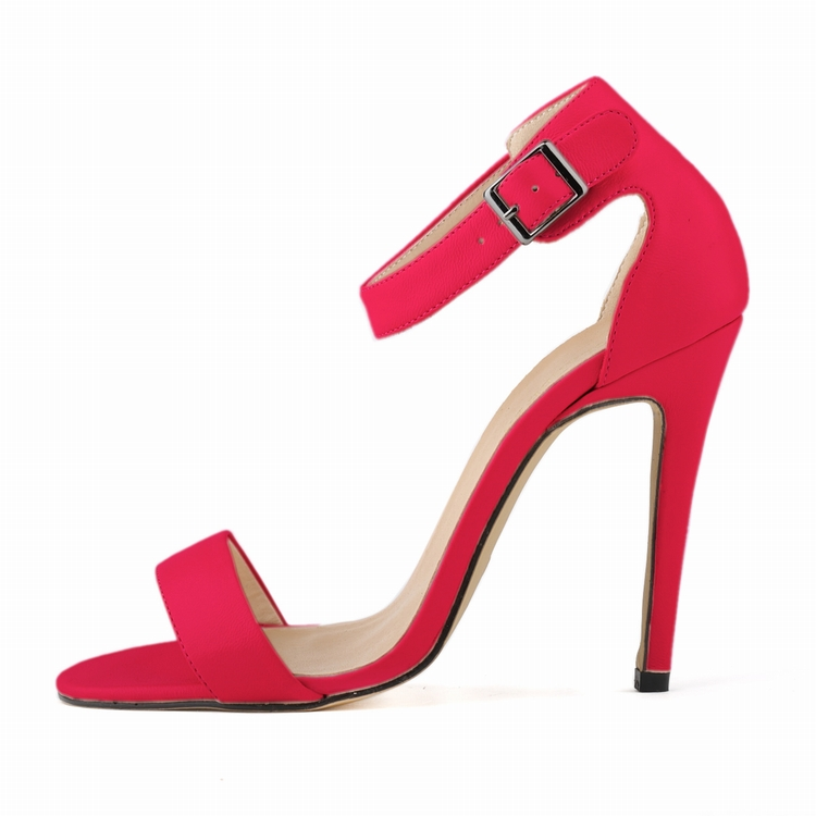 11 Styles 35-42 Sexy Ankle Strap Pumps For Women Customize Red Bottom High Heels Woman Party Wedding Sandals Shoes SMYNLK-AA0027