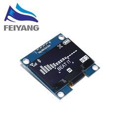 1 stücke 1,3 inch OLED modul weiß/blau SPI/IIC I2C Kommunizieren farbe 128X64 1,3 zoll OLED LCD LED Display Modul 1,3 OLED modul