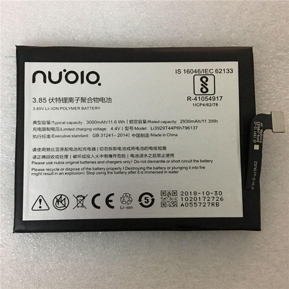 100% Original Li3929T44P6h796137 Batterie Für ZTE Nubia Z11miniS Z11 miniS NX549J Z17mini Z17 mini NX569H NX569J Batterie 3000 mAh