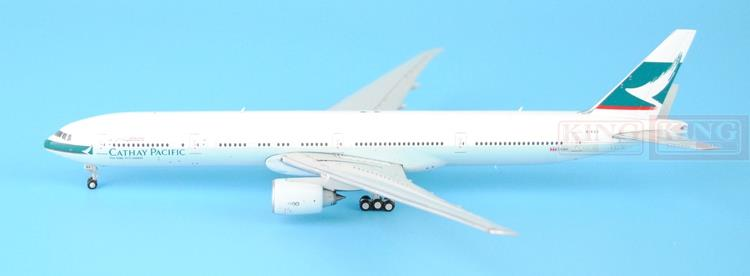 Special offer: Wings XX4913 JC Hongkong Cathay Pacific B777-300ER fiftieth 1:400 77W commercial jetliners plane model hobby