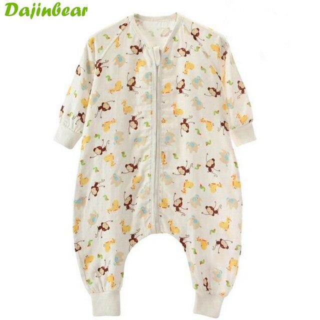 Для 0-18 Месяцев Симпатичные Сна Мешок Для Новорожденного ребенка Спальный Мешок Младенческой Одежды стиль спальные мешки Рукав Ползунки