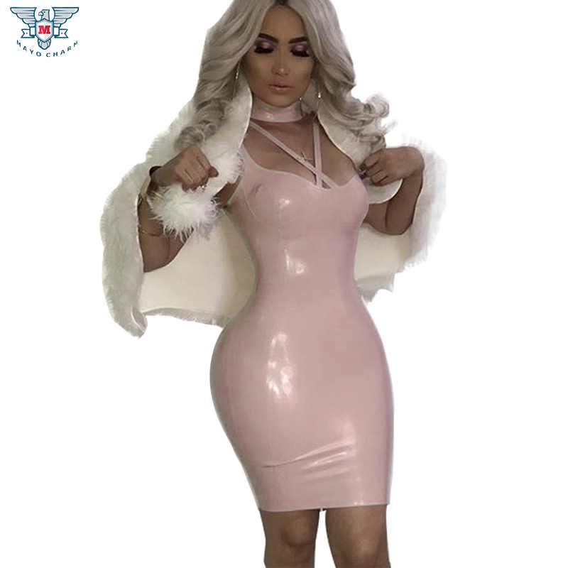 Новые 2018 розовый PU Кожаные модельные туфли пикантные Для женщин ярче молнии