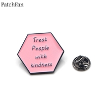 Patchfan feminist funny letter Zinc pins para backpack pride clothes metal for bag shirt hat badges brooches men women A1533