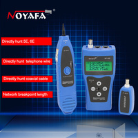 Multipurpose LCD Display Network Cable Tester Tracker Wire Hunting wire sorting cable length test 5E 6E cable coaxial RJ45