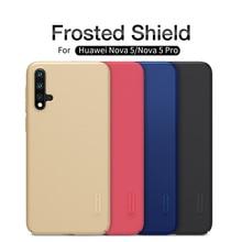 Huawei Nova 5 Case Nova5 Pro Back Cover NILLKIN Super Frosted Shield PC Plastic Hard Phone Cases For / Nove