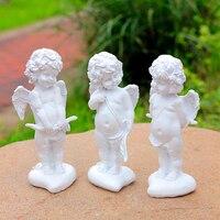حديقة الحلي اليدوية الصغيرة الملاك كيوبيد الملاك الراتنج الحرف الفنون الزخرفية الديكور الزفاف ديكور المنزل