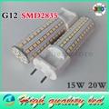 1pcs/lot AC85-265V G12 SMD2835 144 led chip 20W High Power led corn bulb,Cold White /Nature White /warm white led spotlight lamp