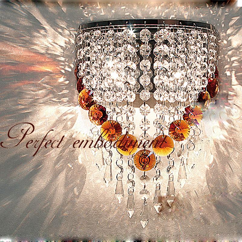 Moderne Led Kristall Wandleuchte Amerikanischen Stil Europischen Wohnzimmer Lampen Schlafzimmer Ganglichter Nachtwandleuchte