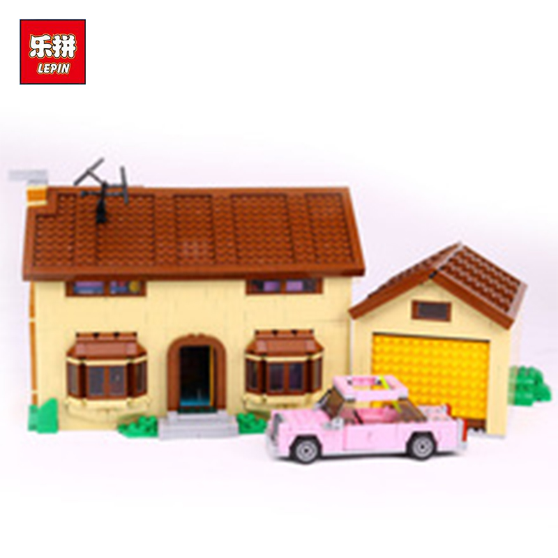 New 2575Pcs Lepin 16005 Simpsons family Kwik-E-Mart Set Building Blocks Bricks Toys 71006