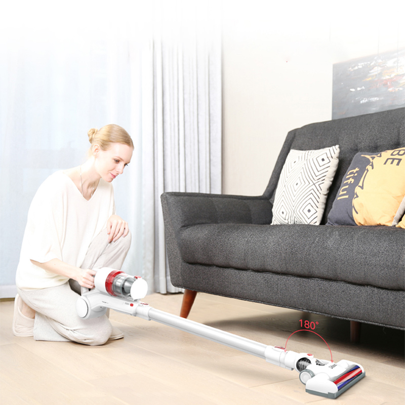 Dibea DW200 2 in 1 Handheld Cordless Vacuum Cleaner Strong Suction Dust Collector Wireless Vacuum Cleaner With Wall Hanging Rack